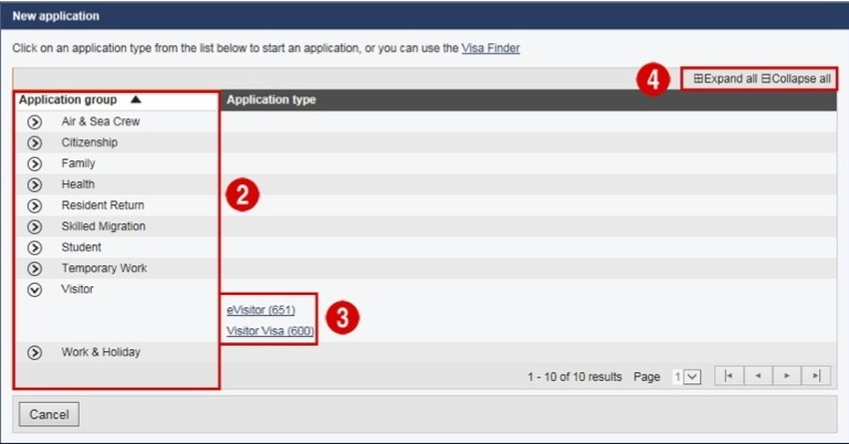 2_How_to_Create_student_visa_Application_in_IMMI_Account